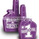 18'' custom party foam hand foam finger