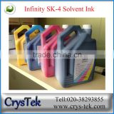 CRYSTEK Large format printer Outdoor printing Challenger/ Infiniti SK4 Solvent ink