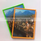 cheap scenery picture pvc plastic photo frame advertising frame A0 A1 A2 A3 A4