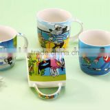 New bone china mug with animal printings