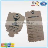 Paper Hangtag Private Label Hair Wax