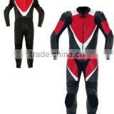 Pro Racing One Piece Motorbike Leather Suit, CE Protectors YKK Zippers from Sialkot Pakistan