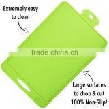 Foodie's Kitchen Premium Silicone Cutting Board - Flexible, Durable, Nonslip, Heat Resistant Board for Chopping & Cutting -Green