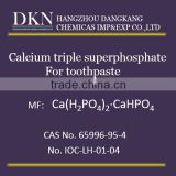 High Quality Calcium triple superphosphate For toothpaste CAS NO.65996-95-4