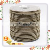 Free Sample!! 3mm Soft Cowhide Leather Rope in Bracelets and Necklaces Making