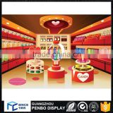 Cutomized design retail sweet cotton candy kiosk for sale