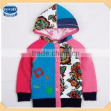 ( F3941 ) BLUE 18M-6Y Nova kids high quality baby girl winter flecee hoodies and sweatshirts for children