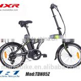 electric folding bicycle/with rear hub motor ebike/special ebike