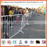Crowd control barrier used for controlling large crowds
