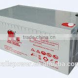 100% factory tested solar light 24v agm 12v deep cycle battery