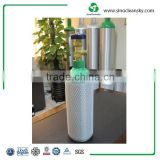 12L High Pressure Seamless Aluminum Gas Cylinder For Medical Oxygen