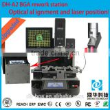 Hot sale Dinghua DH-A2 bga repair equipment with Panasonic ccd camera system and laser position