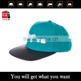 Bulk/Wholesale Design/Custom Fashion 3D Embroidery Baseball Cap Plain Curved Bill Snapback Hat With Metal Buckle