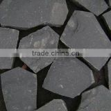 G685-002 Natural Dark Grey Basalt Kerbstone Interlock Permeable Pavers