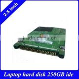"Stock new 2.5"" IDE ATA/PATA HDD 250GB 5400RMP 8M internal laptop hard disk drive all brands for old laptop /desktop"