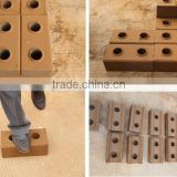 HR1-30 manual brick making machine lego blocks making machineries wholesale price