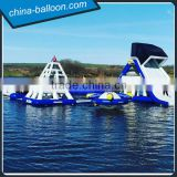 Commercial outdoor water games giant inflatable floating water park, cheap price inflatable amusement park equipment