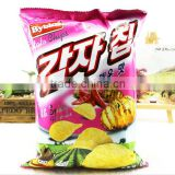 Factory Price Plastic Bags for Potato Chips, Banana Chips Packaging, Custom Printed Potato Chip Bags