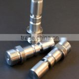 precision stainless steel threaded motor shaft adapter ISO manufacturer
