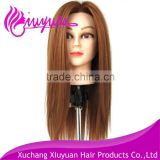 2015 Cheap Cosmetology Salon Practice Hair Training Head For Barber Shop