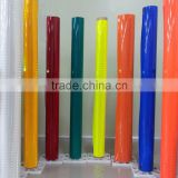 Fluorescence High intensity prisamtic self adhesive reflective sheeting