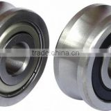High speed spindle V groove bearing AS1129 for covering machines