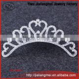 fashion Korean version alloy rhinestone crown hair comb bridal jewelry accessories factory direct wholesale