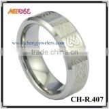 Laser pattern wholesale celtic jewelry manufacturers irish celtic engagement ring,celtic knot ring