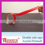 hand tearable double sided fabric adhesive tape