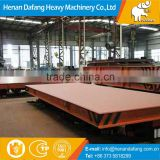 5t, 10t, 20t Rail Type Transfer Car for Heavy Materials, Steel Coil Handling Large Table Electric Flat Bed Rail Transfer Car
