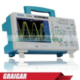 "High QualityNew Hantek DSO5202BM Digital Storage Oscilloscope,2channels 200MHz 1GSa/s, 7"" Color Display, 2M Record Length"