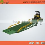 Hydraulic mobile heavy duty loading dock ramp