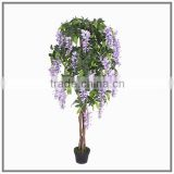 artificial wisteria tree manufacture