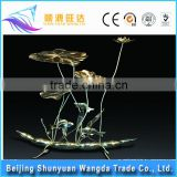 Metal Decoration Items Wholesale car decoration cheap handmade flower decoration