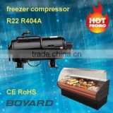 Cold room compressor lanhai QHD series CE RoHS for used display showcase mini medical refrigerator freezer