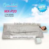 3 zone far infrared sauna blanket / fir slimming blanket bag / far infrared body shaping blanket