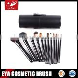 12pcs cylinder makeup brush blush containers