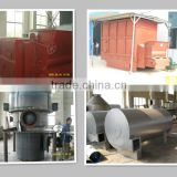Coal combustion hot air furnace