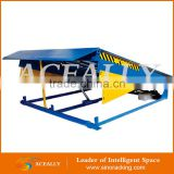large loading manual air powered hydraulic edge vertical lift dock leveler