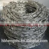 Professional manufacturer of PVC coated double strand double twisted 12x12 barbed wire/PVC Coated Barbed Wire for fence use