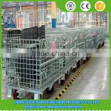 Anping Mesh box wire cage / metal bin storage pallet containers