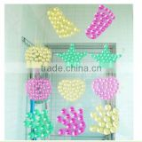Novelty style Crystal Window Rubber Suction Silicone Sucker