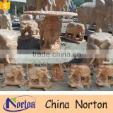 Garden decoration outdoor stone tables and benches NTS-B272A