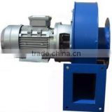 Y5-47 Small boiler draught centrifugal blower fan exhausting gas containing dust and wood chip
