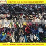 lots of used shoes for sale bulk wholesale cheaop price second hand shoes in Guangzhou warehouse