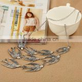 fashion swallow charm pendant necklaces new design animal pendant necklaces for her gifts 2017