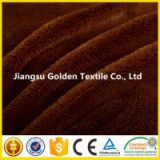 China Alibaba Jiangsu 7-40mm 100% polyester Knitted Minky PV plush fabric/Blanket Fabric/Toy Fabric