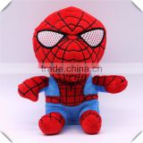 Hot selling Spider man plush stuffed toys Batman cartoon soft toy with low price for children