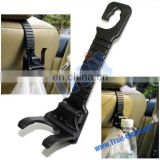 1.5kg Burden Black Seat Back Car Hanger Hook for Bags and Drinking
