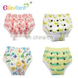 Hot sale Washable Baby pants Reusable Bamboo Potty Training Pants cloth nappies
